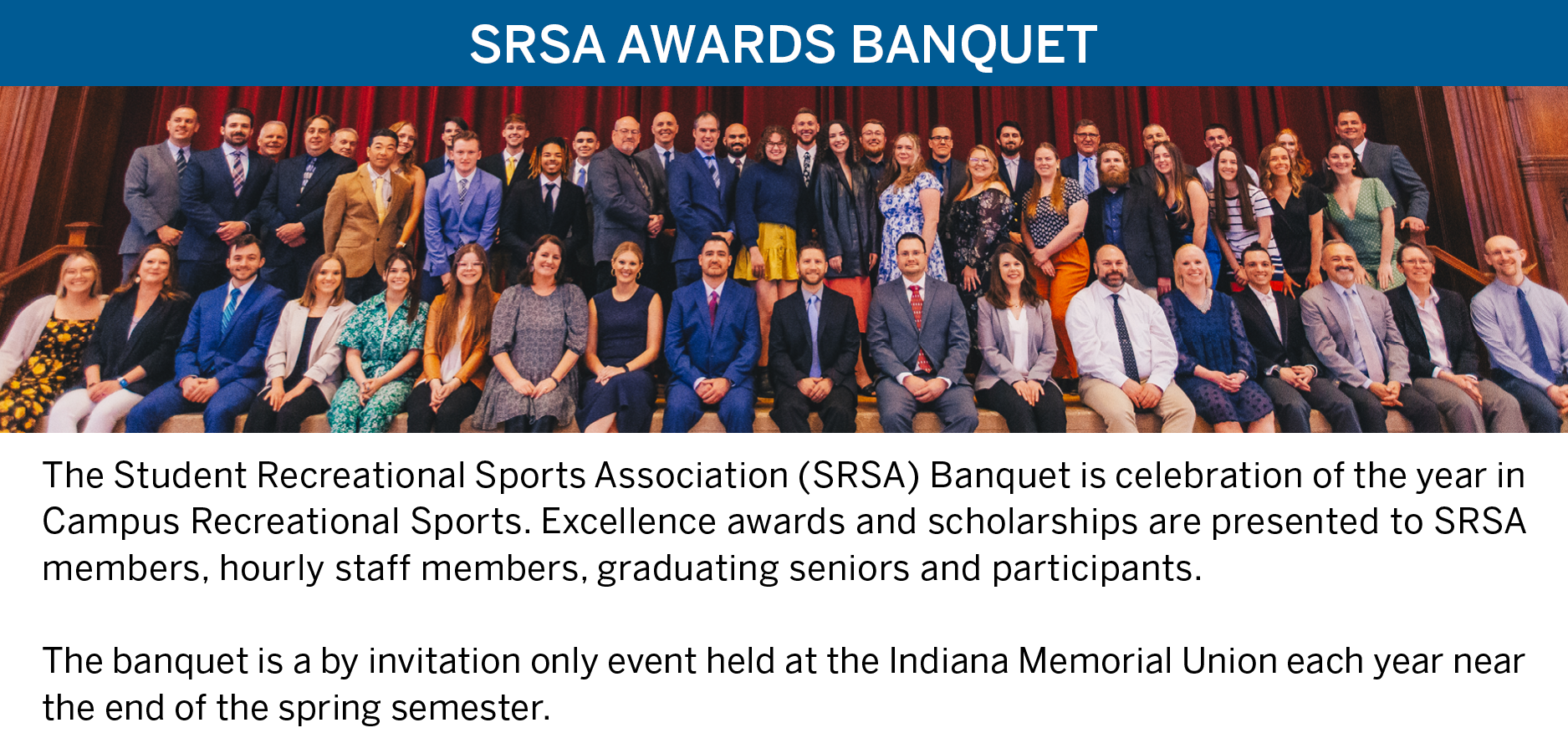 SRSA Awards Banquet